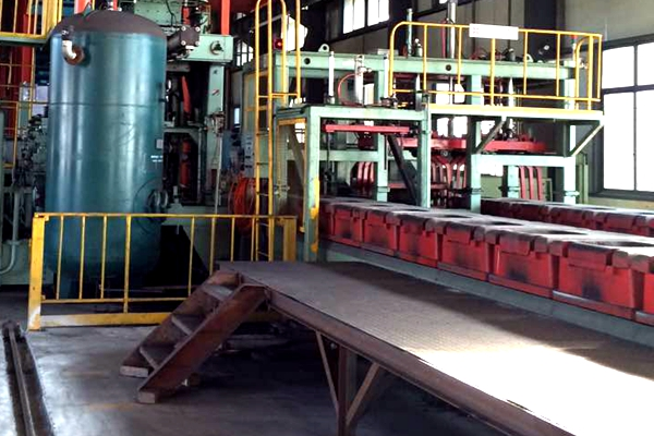 automatic sand casting line