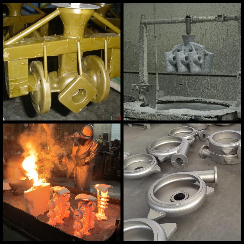 China investment casting foundry produce large parts