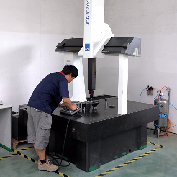 Machined parts dimensional inspection by CMM
