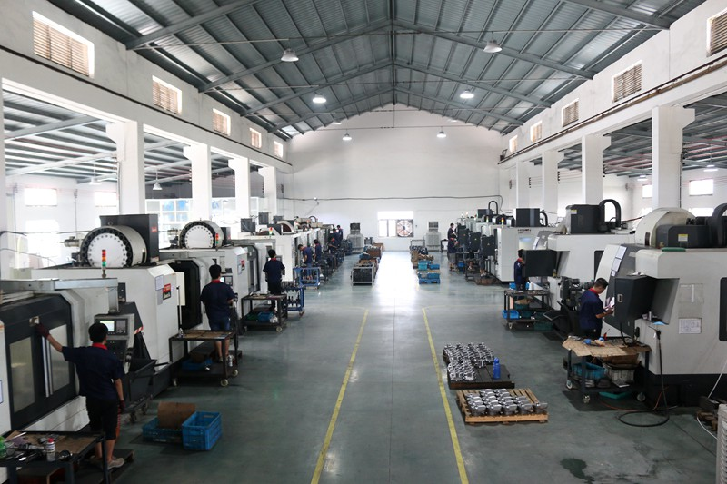 china cnc machining shop