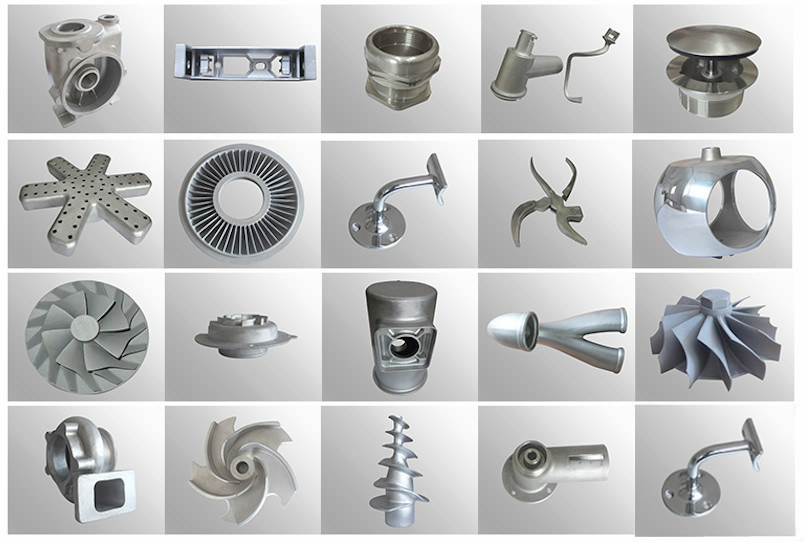 machining and investment casting parts